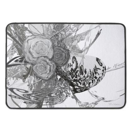 Bath Mat - Badrumsmatta - 50 Shades of Lace Grey