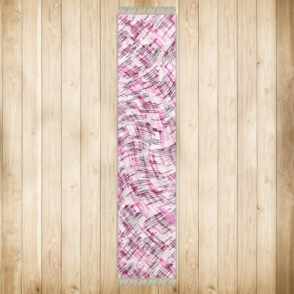 Long Runner (290x63cm) - Petri Family Pink Remix