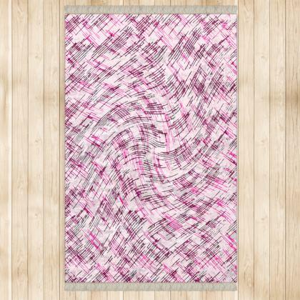 Large Rug (128x200cm) - Petri Family Pink Remix
