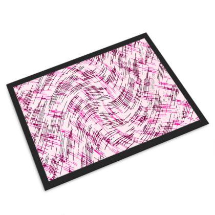 Door Mat - Petri Family Pink Remix