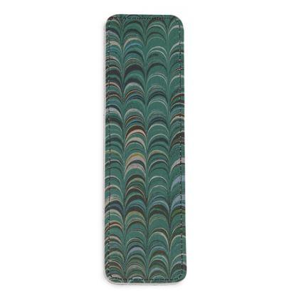 Leather Bookmarks - Around Ex Libris Jade Remix (1800 -1950)