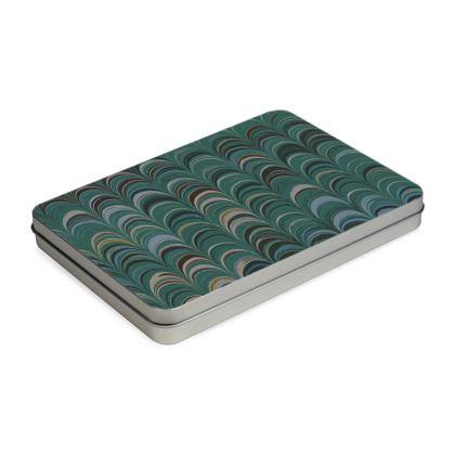 Pencil Case Box - Around Ex Libris Jade Remix (1800 -1950)