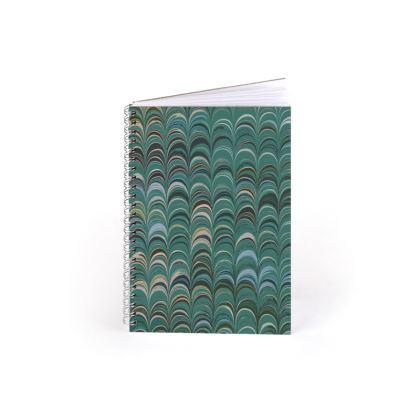 Spiral Note Books - Around Ex Libris Jade Remix (1800 -1950)