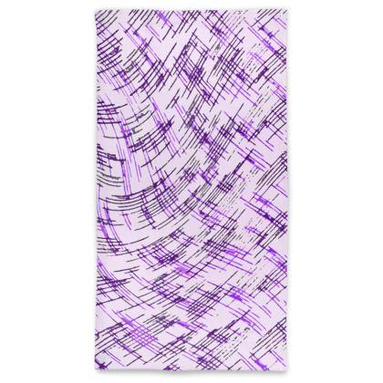 Neck Tube Scarf - Petri Family Purple Remix