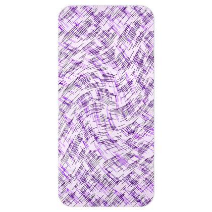 Blanket Scarf - Petri Family Purple Remix