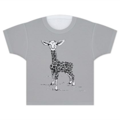 Giraffe Little'un T-Shirt