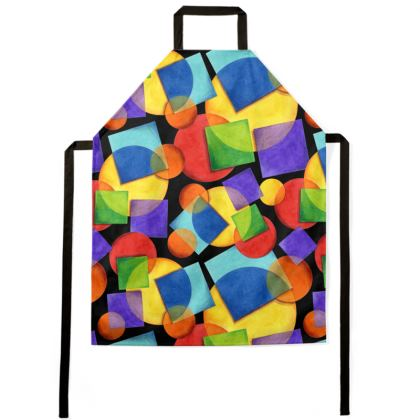 Candy Rainbow Geometric Aprons