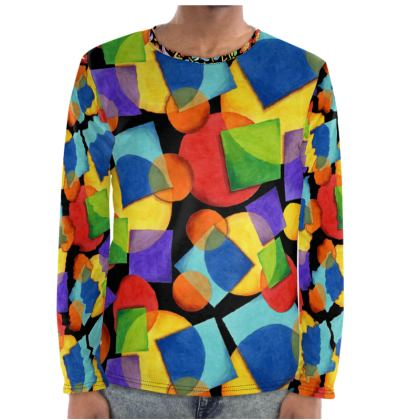Candy Rainbow Festival Long Sleeve Shirt