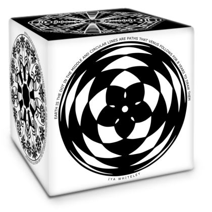 Cosmic Baby Black and White Cube