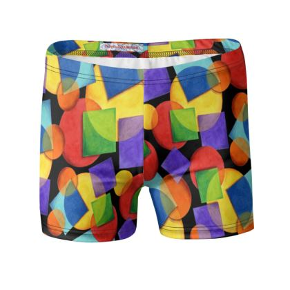 Candy Rainbow Swimming Trunks
