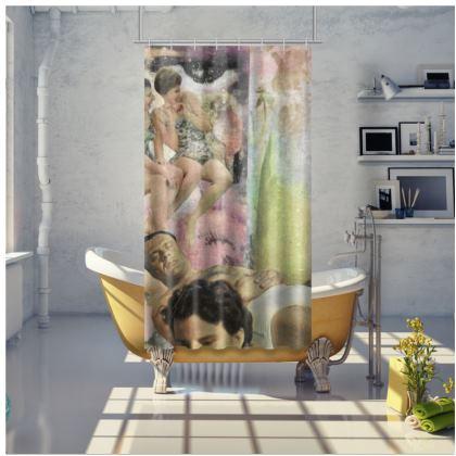 Vintage Summer, Shower Curtain