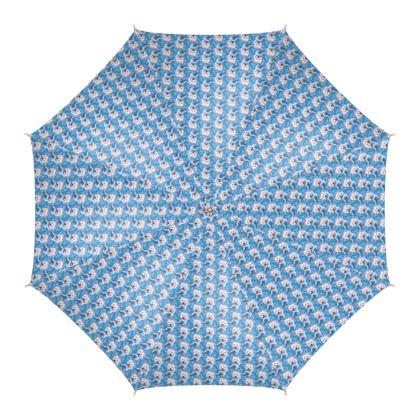 Millie the Westie Fine Art Print Umbrella by Somerset (UK) Artist and Designer Amanda Boorman