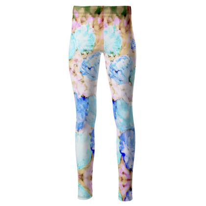 SAN REMO ART HIGH WALSTED LEGGINGS