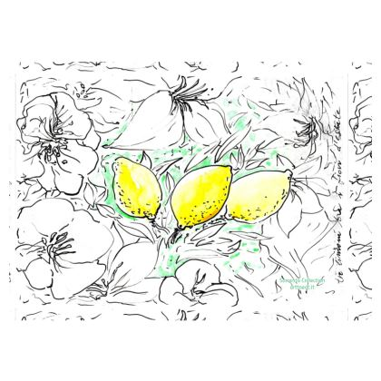 SORRENTO ART FABRIC PLACEMATS