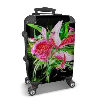 Suitcase (hand luggage) - Resväska  (handbagage) - Pastells Black