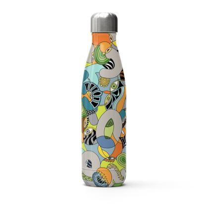 Stainless Steel Bottle - Number Game