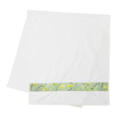 Strip Towels in Buttercup Meadow Flower Design