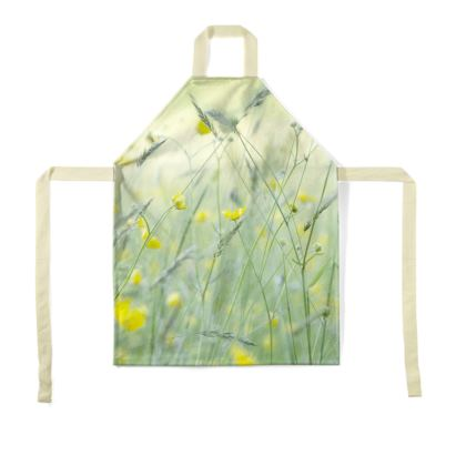 Aprons in Buttercup Meadow Flower Design