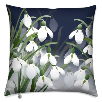 Ghosts of Winter Cushion