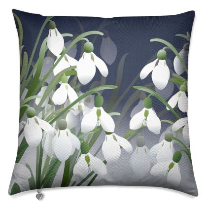 Ghosts of Winter Luxury Cushion