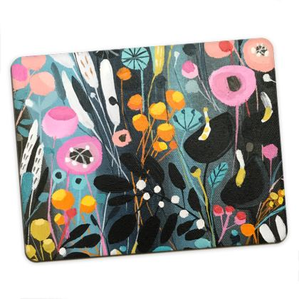 Set of Placemats in Natalie Rymer Wild Flowers design