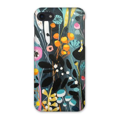iPhone 8 or 7 Case in Wild Flowers design by Natalie Rymer
