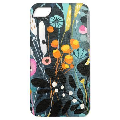 iPhone 6 Case in natalie Rymer Wild Flowers design