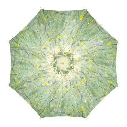 Umbrella in Buttercup Meadow Flower Design