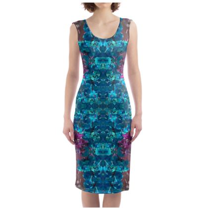 Aqua Bodycon Dress