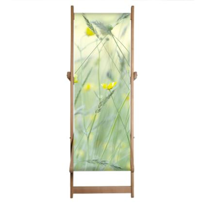 Deckchair Sling in Buttercup Meadow Flower Design.