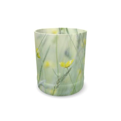 Whisky Glass in Buttercup Meadow Flower Design
