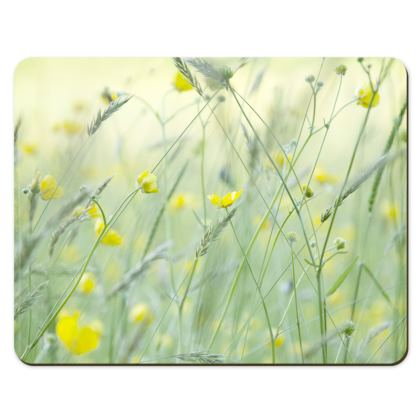 Placemats in Buttercup Meadow Flower Design