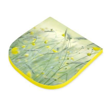 Seat Pad in Buttercup Meadow Flower Design