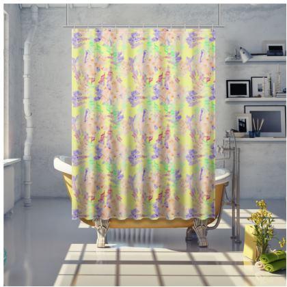 Shower Curtain Moonlight Foxglove