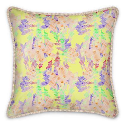 Silk Cushions  Moonlight  Foxglove