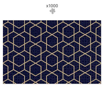 Geometric 1000 Piece Jigsaw Puzzle