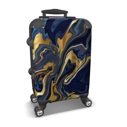 Suitcase Indigo Ocean