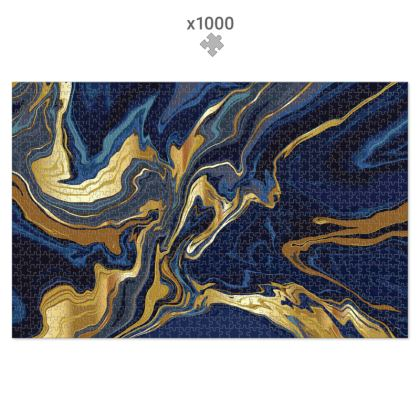1000 Piece Jigsaw Puzzle Indigo Ocean