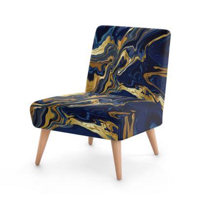 Indigo Ocean Occasional Chair