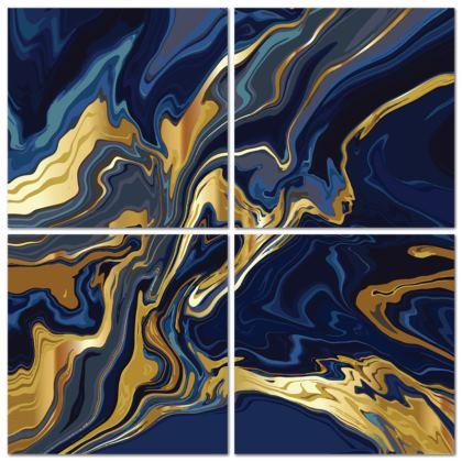 4 Panel Split Canvas