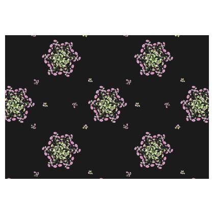 Flared Skirt, Spiral Roses