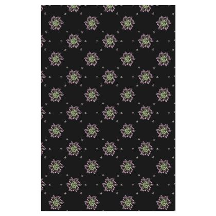 Slip Dress, Spiral Roses