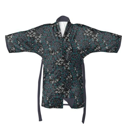 The Secret Garden - Night Jasmines kimono