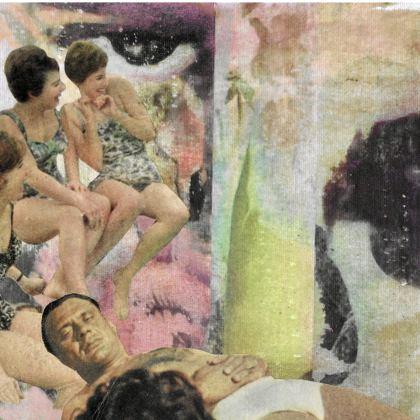 Vintage Summer Silk Kimono