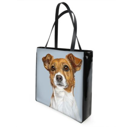 Jack Russell Terrier Shopping Bag