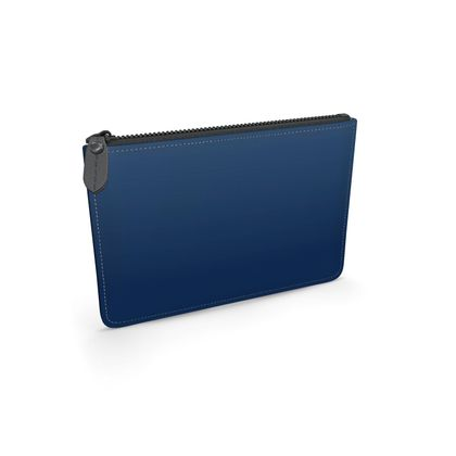 Leather Pouch, Deep Blue Sea