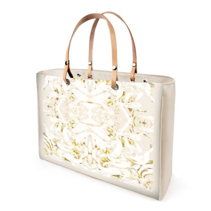 Moonstruck White Handbag