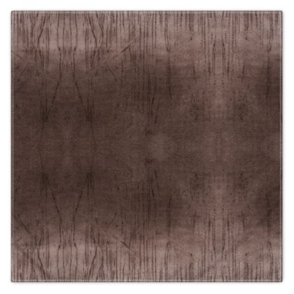 Smog Brown Fringe Scarf