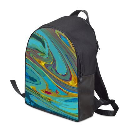 Backpack - Abstract Diesel Rainbow 1