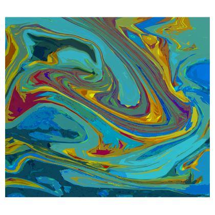 Mens Washbag - Abstract Diesel Rainbow 1